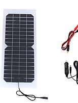 10w 18v solaire automobile voiture panneau chargeur de batterie rechargeable monocristallin portable (swr1018c)