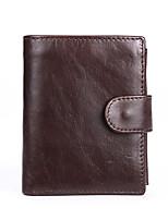 Men Cowhide Casual Wallet