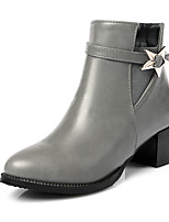Women's Boots Fall / Winter Fashion Boots / Combat Boots / Round Toe Office & Career / Dress / Casual Chunky Heel