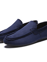 Men's Loafers & Slip-Ons  Comfort / Round Toe / Closed Toe  Casual Flat Heel Others Black / Blue / Gray
