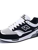 Men's Shoes Outdoor Fashion Sports Shoes Leisure Microfiber Fabric Shoes Blue / Grey / BlacK