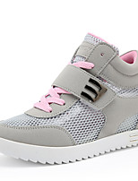 Women's Shoes Tulle Summer Comfort Sneakers Athletic Low Heel Magic Tape / Pink / Red / Gray