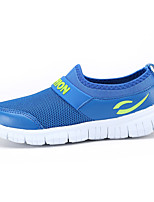 Boy's / Girl's Sneakers Spring / Fall Comfort PU Casual Flat Heel Slip-on Blue / Yellow / Pink / Red