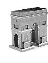 Puzzles 3D - Puzzle Bausteine DIY Spielzeug Berühmte Gebäude 1 Metall Silber Spiel-Spielzeug