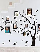 Botânico / Vida Imóvel / Moda / Formas Wall Stickers Autocolantes de Aviões para ParedeAutocolantes de Parede Decorativos / Autocolantes