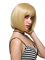 capelli corti biondi, parrucche moda.