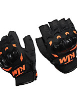Riding Gloves Half Finger Nontoxic Odorless Water Resistant Breathable Slip Drop Resistance