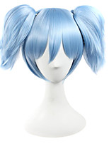 Cosplay Wigs Assassination Classroom Cosplay Blue Short Anime Cosplay Wigs 25 CM Synthetic Fiber Male