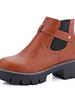 Women's Boots Fall / Winter Fashion Boots / Combat Boots / Round Toe Office & Career / Dress / Casual Platform Gore