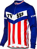 Sports Cycling Jersey Men's Long Sleeve Bike Breathable / Thermal / Warm / Windproof / Wearable / Soft Tops Terylene / LYCRA® Classic