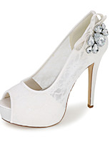 Women's Shoes Synthetic Spring / Summer / Fall Peep Toe Sandals Wedding / Party & Evening / Dress