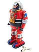 Игрушка новизны / Логические игрушки / Обучающие игрушки / Игрушка с заводом Игрушка новизны / / воин / Робот МеталлСеребристый /