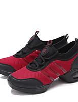 Non Customizable Women's Dance Shoes  /Fabric Dance Sneakers /Sneakers Flat HeelOutdoor