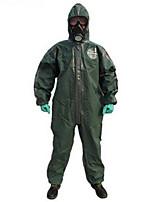 Лейкленд npg135 легкий ПВХ защитная одежда химический всплеск анти-кислотные костюмы непромокаемые комбинезоны