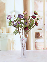 1PC  Household Artificial Flowers Sitting Room Adornment Flowers  Polyester Camellia Artificial   Flowers