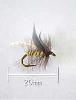 1 pcs Hard Bait Gray 5 g/1/6 oz. Ounce,20 mm/<1