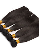 4pieces Brazilian Virgin Hair Straight 7A Unprocessed Mink Brazilian Straight Hair Extension Human Hair Weave Bundles