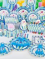 Invitaciones de la fiesta Conjuntos de Invitaciones Envuelve y Guarda No personalizada 85 piezas / Set