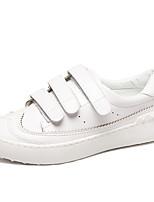 Da donna-Sneakers-Casual-Comoda / Punta arrotondata-Piatto-PU (Poliuretano)-Bianco