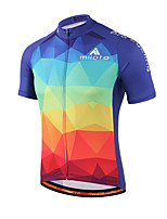 Miloto® Cycling Jersey Women's / Men's / Kid's / Unisex Short Sleeve BikeBreathable / Quick Dry / Moisture Permeability / Front Zipper /