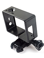 1PCS Accesorios GoPro Smooth Frame Para Gopro Hero 3 / Gopro Hero 3+ / Gopro Hero 4 Conveniente / Anti golpe Bicicleta / Others ABS negro