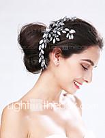 Vrouwen Acryl Helm-Bruiloft / Speciale gelegenheden Bloemen 1 Stuk