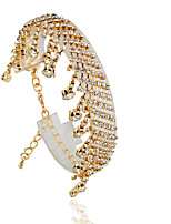 Bracelet/Tennis Bracelets Alloy Circle Fashionable Wedding Jewelry Gift Gold / Silver,1pc