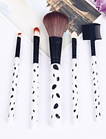 New Professional Animal Wool Five Make-Up Brush Set High-Grade Brush Package