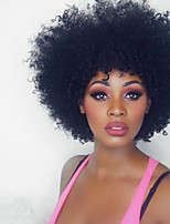 Afro Kinky Curly Lace Front Human Hair Wigs With Baby Hair Glueless Lace Front Wigs For Black women