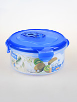 Houseware Round Shape Airtight Plastic Food Container
