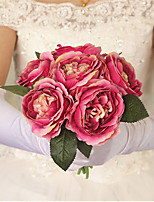 Hi-Q 1Pc Decorative Flowers Peoniesv Hold Flower Wedding  Home Table Decoration Artificial Flowers