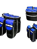 Shoulder Bag  Bike Frame Bag Waterproof  Reflective Strip Multifunctional  Skidproof Leisure Sports  Cycling Bike
