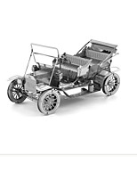 3D Puzzles Building Blocks DIY Toys Car 1 Metal Silver