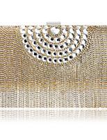 L.west Women Luxury High-grade Diamonds Vintage Tassel Evening Bag