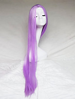 Cosplay Wig Light Purple Color Carve One Meter Long Straight Hair Wig