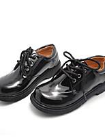 Unisex Flats Spring / Summer / Fall / Winter Comfort Leatherette Athletic / Casual Low Heel Others Black / White Others