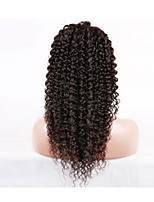 EVAWIGS Unprocessed Kinky Curly U Part Brazilian Human Hair Wig 8-26inch 130% Density for  Women