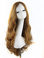 las mujeres de moda las pelucas de la señora linda 70cm / 28inches pelucas de pelo sintético mezclado de color beige pelo sintético peluca