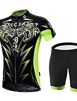 Esportivo Moto/Ciclismo Conjuntos de Roupas/Ternos Homens Manga CurtaRespirável / Alta Respirabilidade (>15,001g) / Secagem Rápida /