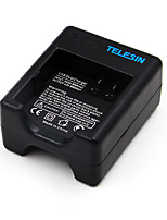 TELESIN Dual Port USB Battery Charger For Xiaomi Yi 4K Sport Action Camera 2
