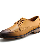 Men's Oxfords Spring / Fall Comfort Leatherette Casual Flat Heel