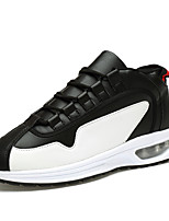 Men's Shoes Outdoor Fashion Sports Shoes Leisure Microfiber Fabric Shoes White / Black / Red