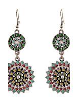 Lureme®Fine Jewelry Europe Fashion Charms Rhinestone Zinc Alloy Earrings