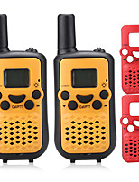 License Free PMR 446MHZ Walkie Talkie for Kids(Random Extra Changeable Frontcase) 0.5W 8 Channels 38CTCSS Up to 5KM