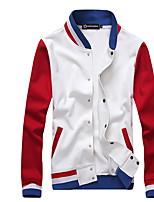 In The Autumn Winter Leisure Fleece Jacket Male Teenagers Collar Men Leisure Fashion Coat
