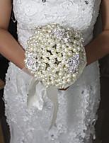 Bouquets de Noiva Redondo Rosas Buquês Casamento Enfeite 7.09