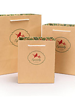 Gift Bags Gift Bags Wholesale Paper Bags Original Free Bird Retro Gift Bags Cb15-07 A Pack Of Five