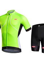 Esportivo Moto/CiclismoShorts / Calças / Pulôver / Camisa/Fietsshirt / Camisa + Shorts / Camisa + Bermuda Bib / Blusas / Conjuntos de