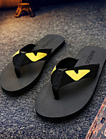 Women's Slippers & Flip-Flops Summer Flip Flops Synthetic Casual Flat Heel Others Black / Brown Water Shoes