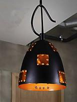 40w Lámparas Colgantes ,  Campestre Pintura Característica for LED MetalSala de estar / Dormitorio / Vestíbulo / Habitación de Juego /